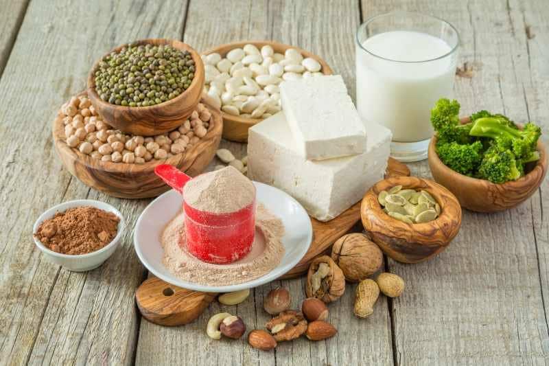 ソイプロテイン(大豆タンパク質)のイメージ写真
