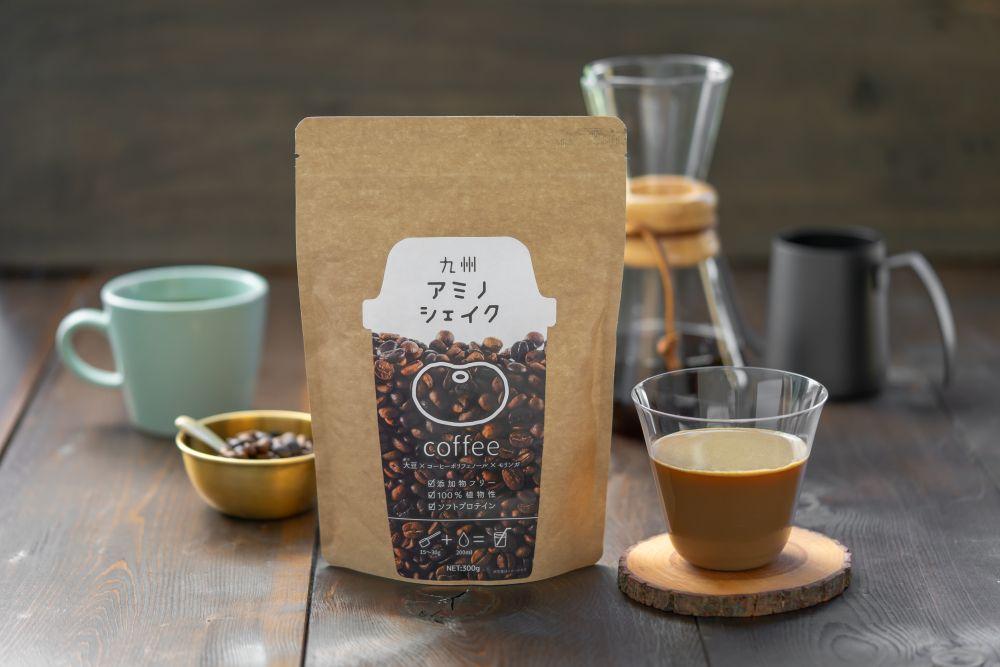 九州アミノシェイク コーヒー味 イメージ写真